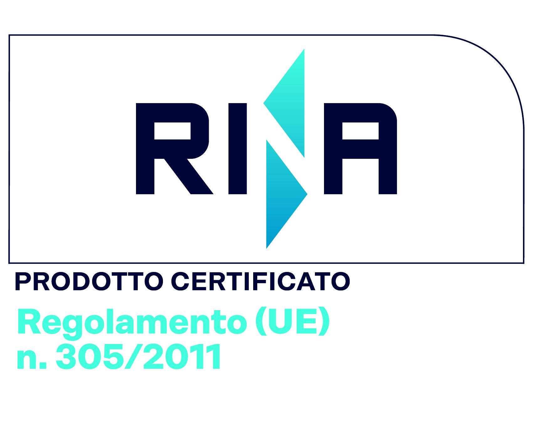 Prodotto Certificato Regolamento UE 305/2011